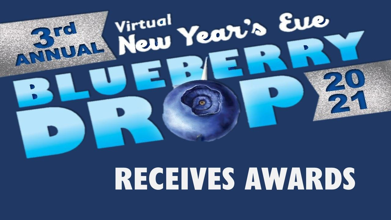 BLUEBERRY DROP RECEIVES AWARDS