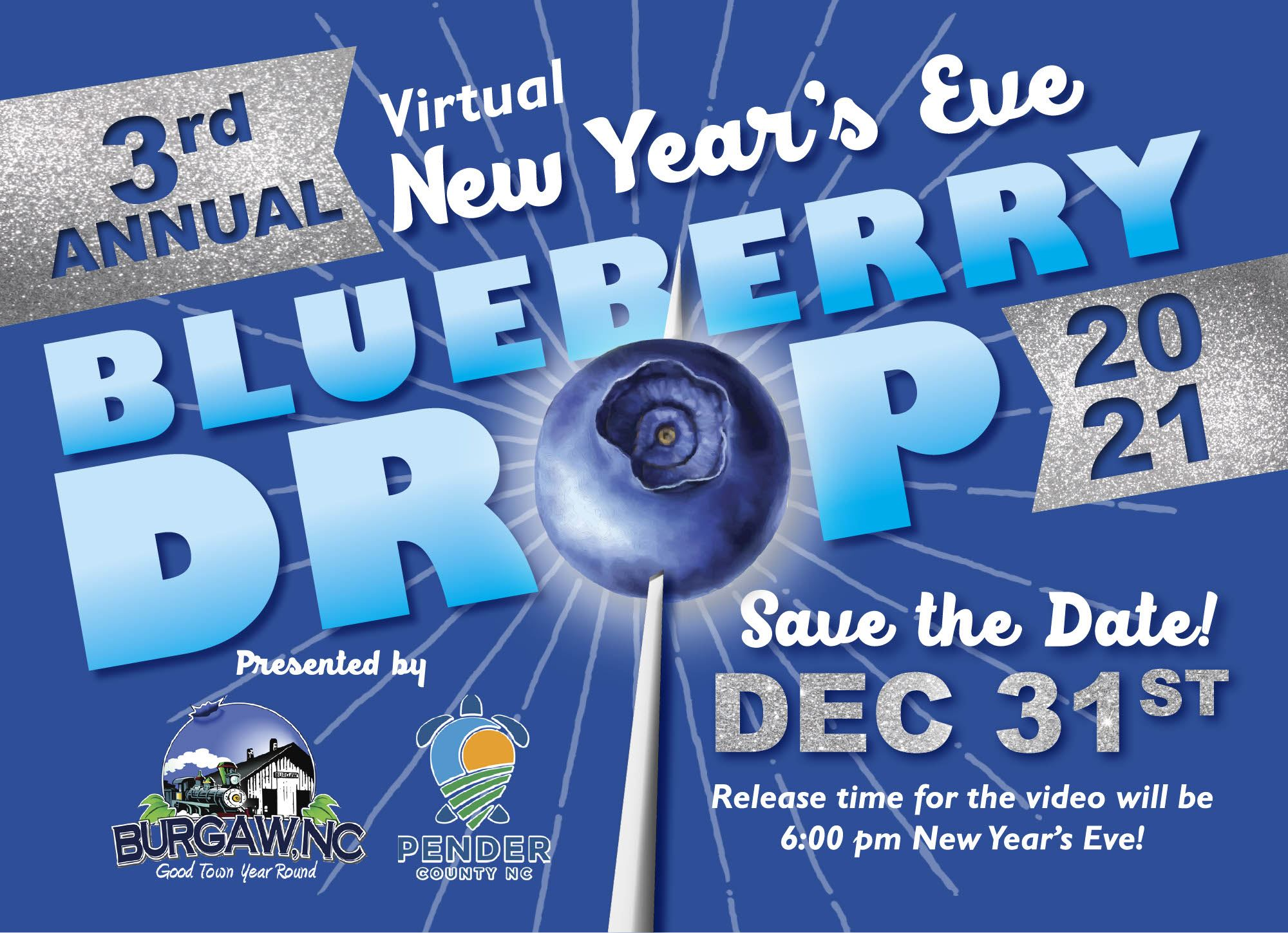 3rd Annual Blueberry Drop